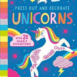 Press Out and Decorate Unicorns